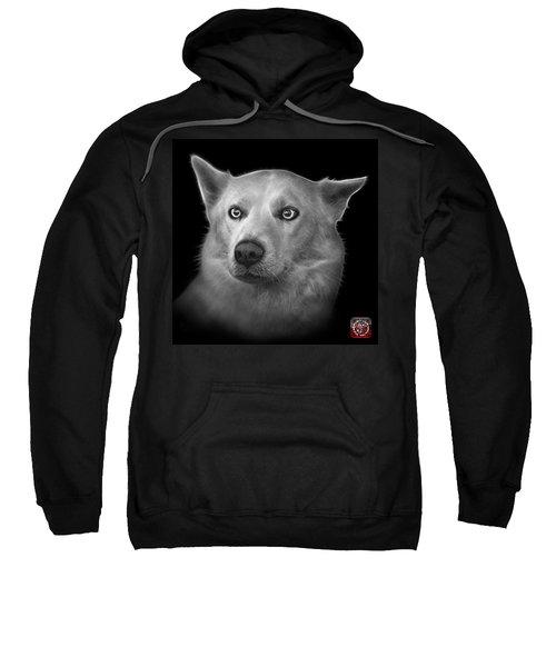 Greyscale Mila - Siberian Husky - 2103 - Bb Sweatshirt
