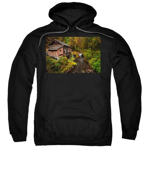 Grist Mill In Autumn Sweatshirt