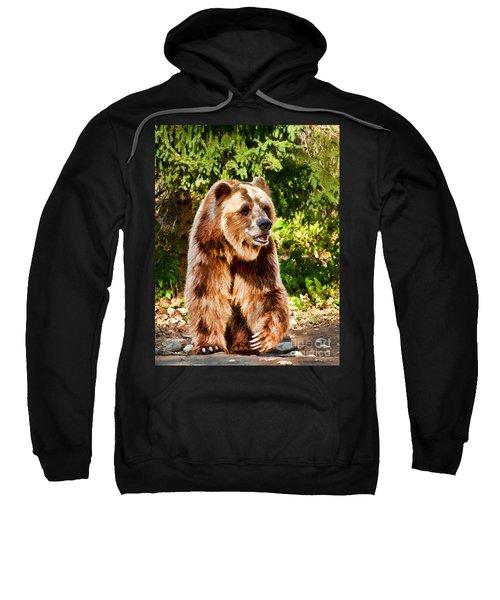 Grizzly Bear - Painterly Sweatshirt