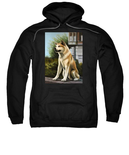 Hachi Painting Sweatshirt