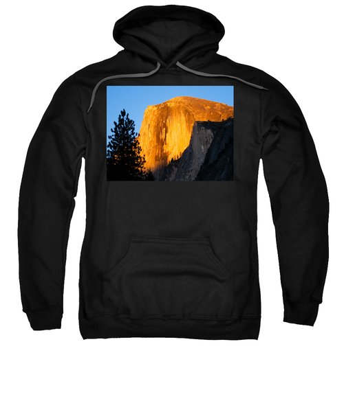 Half Dome Yosemite At Sunset Sweatshirt