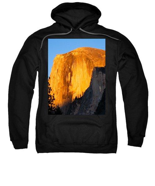 Half Dome Yosemite At Sunset Sweatshirt