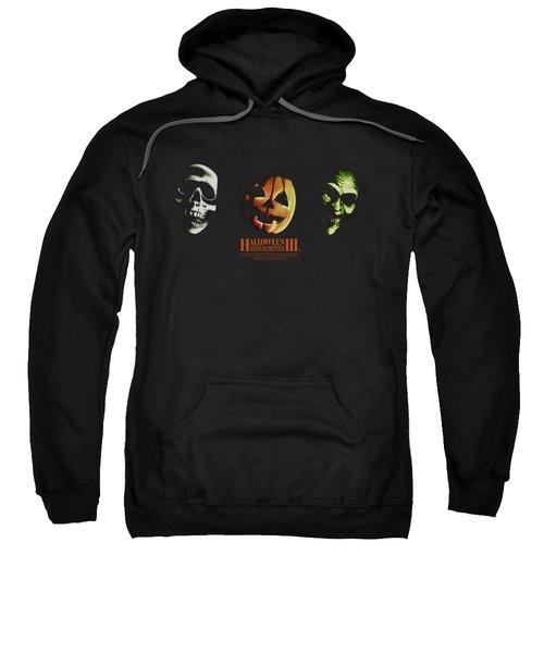 Halloween IIi - Three Masks Sweatshirt