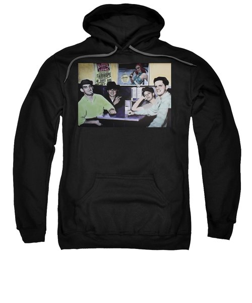 Hanging At The Diner 1949 Sweatshirt