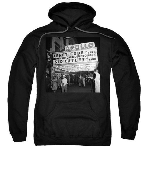 Harlem's Apollo Theater Sweatshirt by Underwood Archives Gottlieb