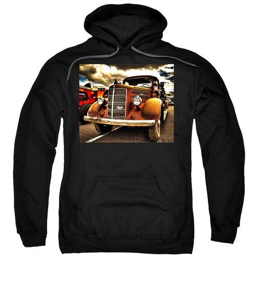 Hdr Fire Truck Sweatshirt