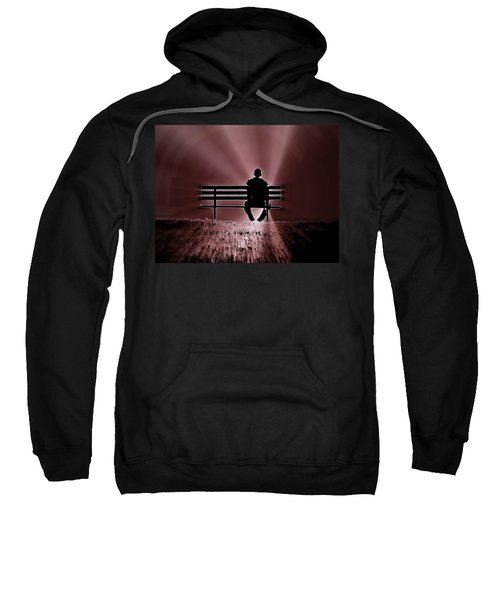 He Spoke Light Into The Darkness Sweatshirt