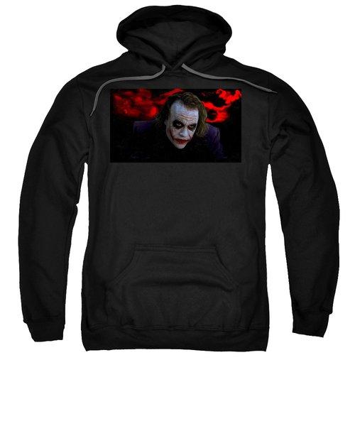 Heath Ledger As Joker Sweatshirt by Image World