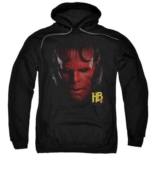 Hellboy II - Hellboy Head Sweatshirt