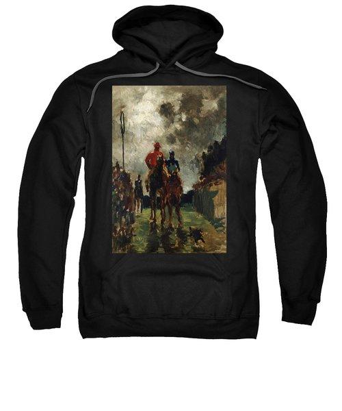 Henri De Toulouse Lautrec Sweatshirt