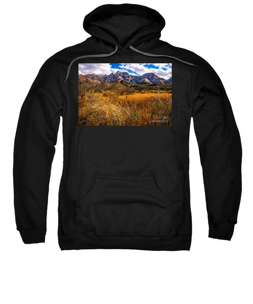 Sweatshirt featuring the photograph Here To There by Mark Myhaver