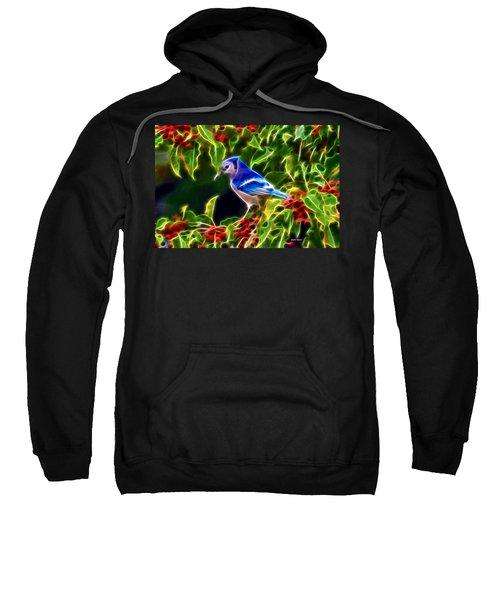 Hiding In The Berries Sweatshirt by Stephen Younts