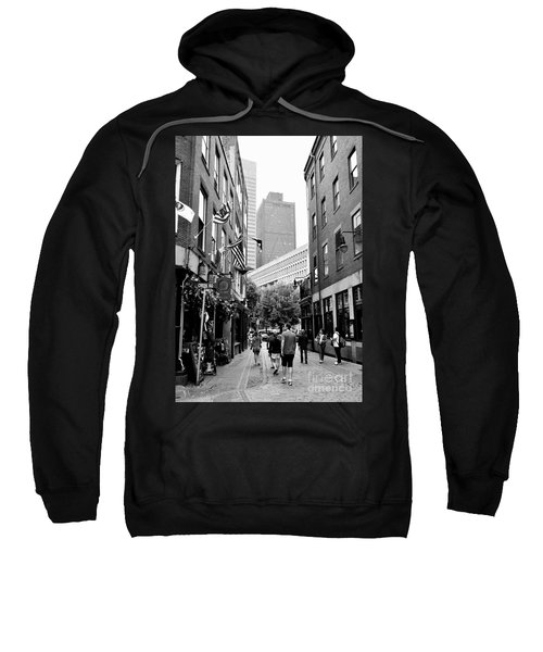 Historic Union Street Boston Ma Sweatshirt