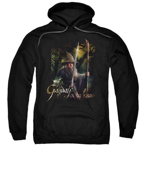 Hobbit - Sword And Staff Sweatshirt