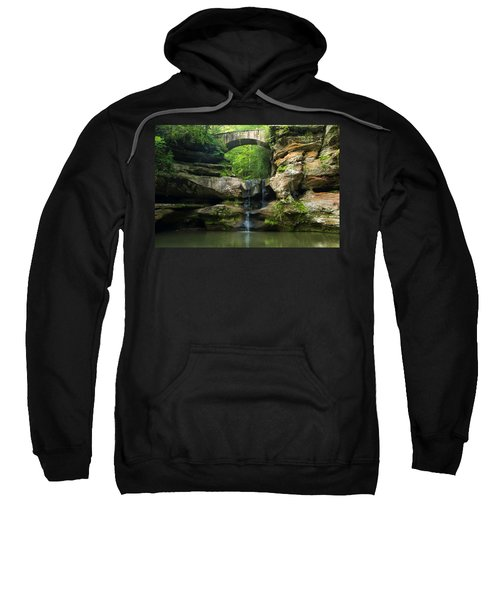 Hocking Hills Waterfall 1 Sweatshirt