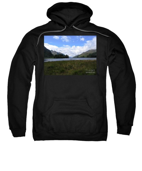 Sweatshirt featuring the photograph Hogwarts by Denise Railey