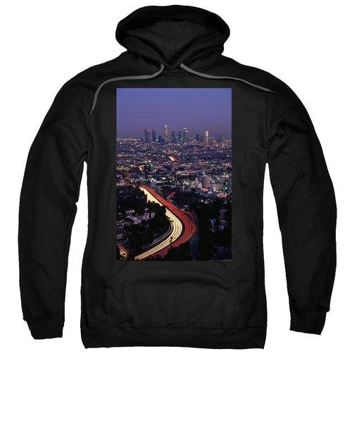 Hollywood Freeway Los Angeles Ca Sweatshirt