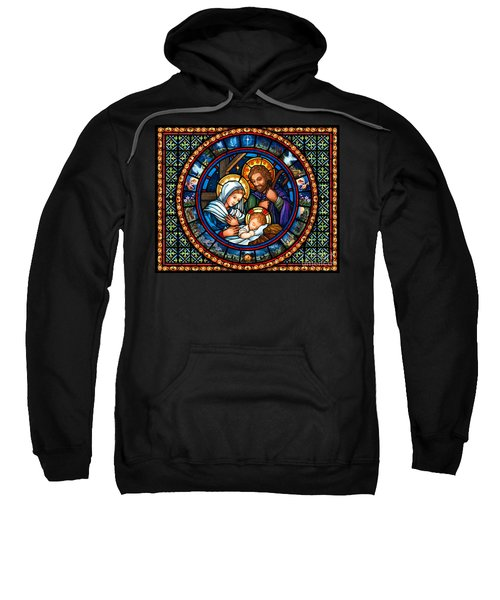 Holy Family Christmas Story Sweatshirt
