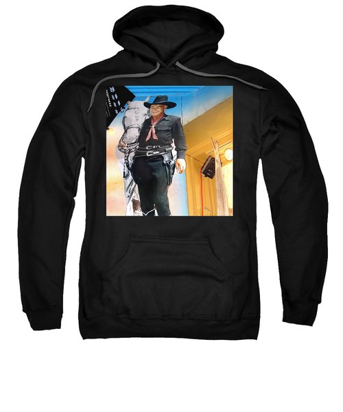 Hopalong Cassidy Cardboard Cut-out Tombstone Arizona 2004 Sweatshirt