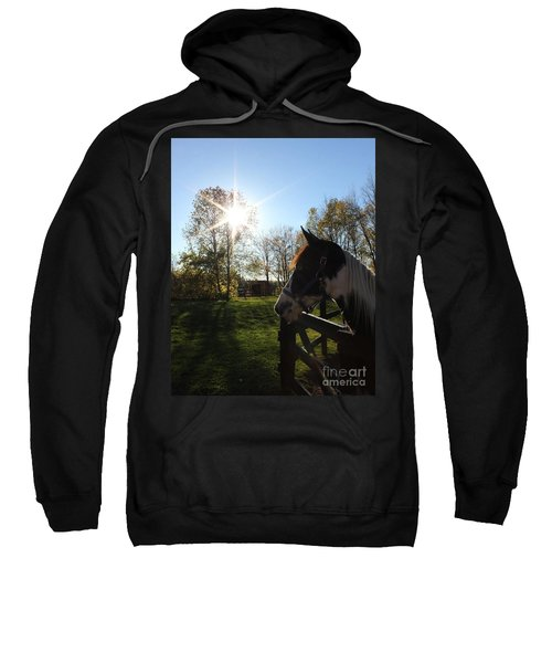Horse With Sunburst Sweatshirt