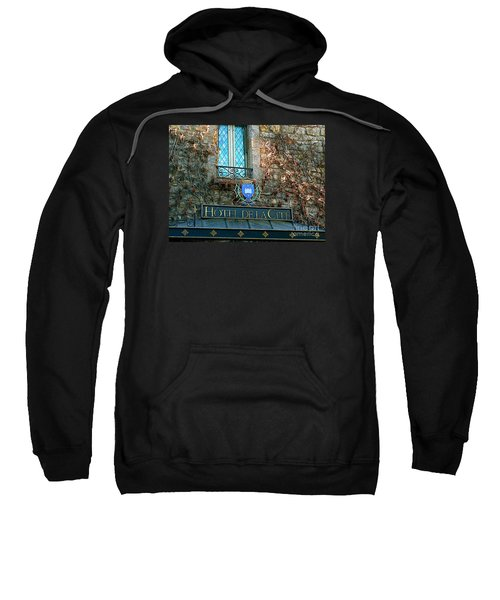 Hotel De La Cite Sweatshirt by France  Art