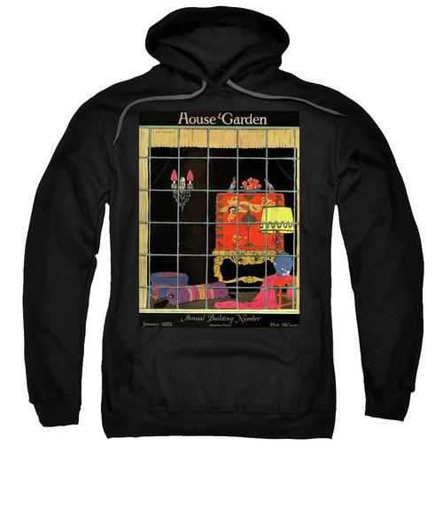 House And Garden Annual Building Number Cover Sweatshirt