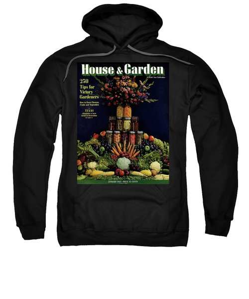 House And Garden Cover Featuring Fruit Sweatshirt