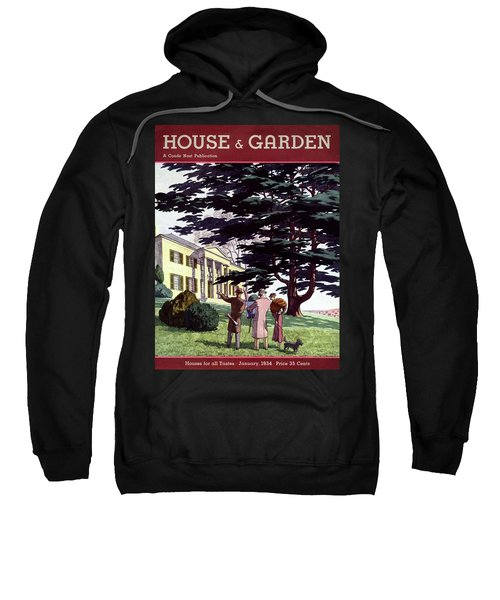 House And Garden Houses For All Tastes Cover Sweatshirt