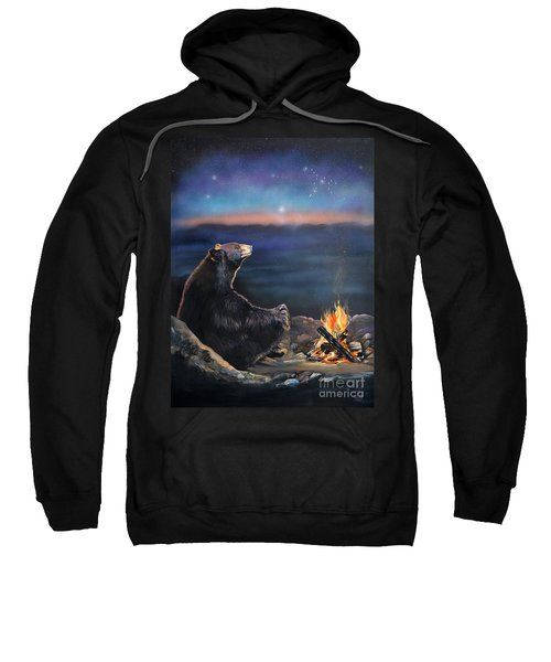 How Grandfather Bear Created The Stars Sweatshirt