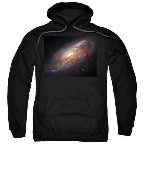 Hubble View Of M 106 Sweatshirt