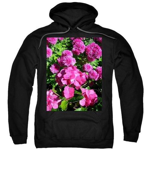 Hydrangea And Mums  Sweatshirt