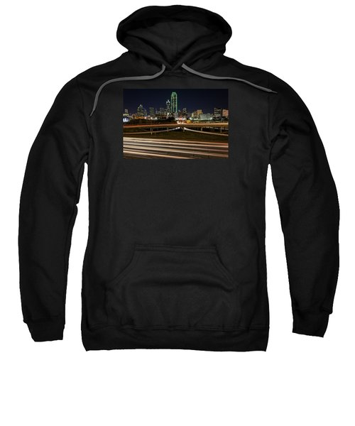 I-35e Dallas Sweatshirt by Rick Berk