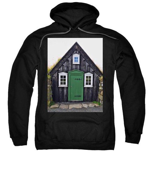 Icelandic Old House Sweatshirt