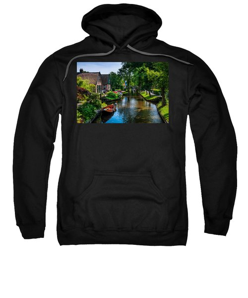 Idyllic Village 15. Venice Of The North Sweatshirt