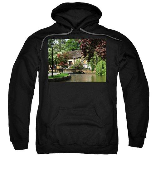 Idyllic Village Scene Sweatshirt