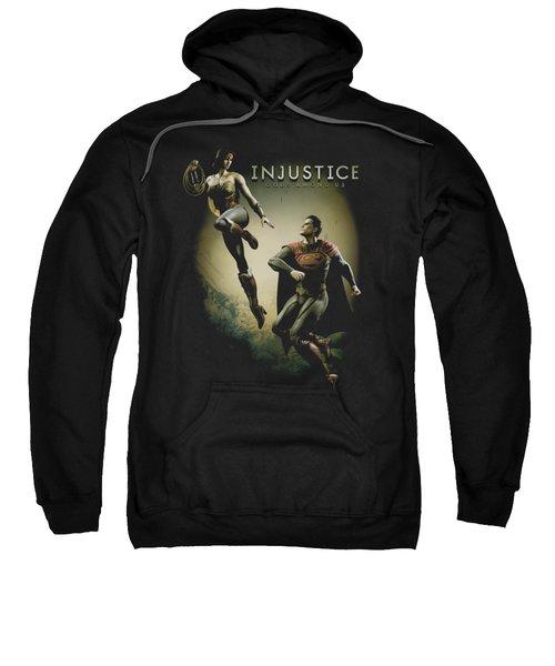 Injustice Gods Among Us - Battle Of The Gods Sweatshirt