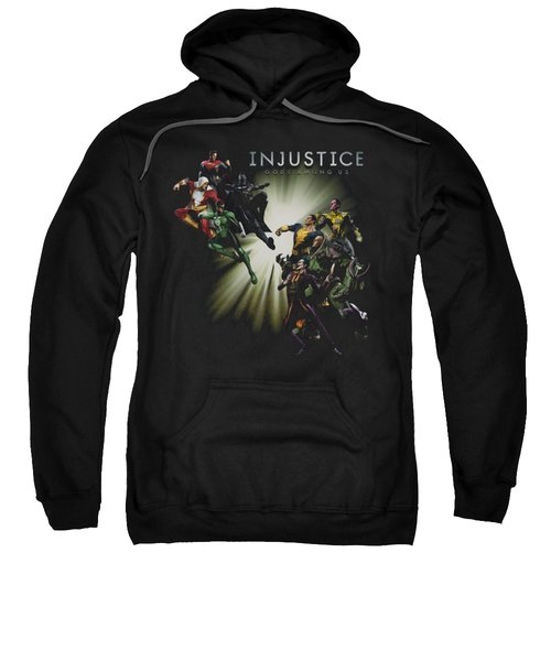 Injustice Gods Among Us - Good Vs Evils Sweatshirt