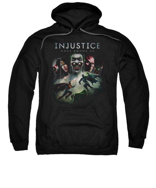 Injustice Gods Among Us - Key Art Sweatshirt