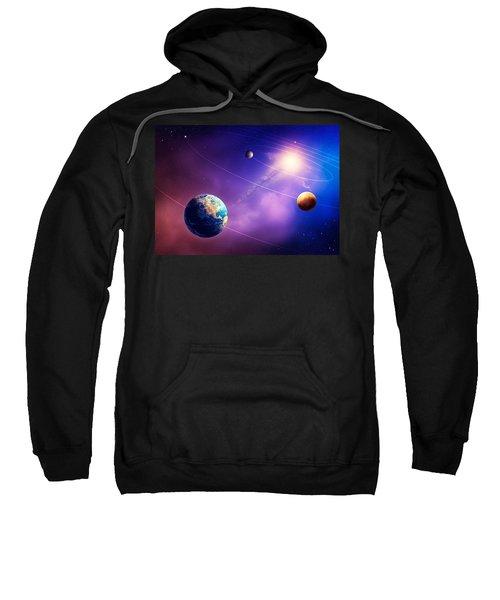 Inner Solar System Planets Sweatshirt