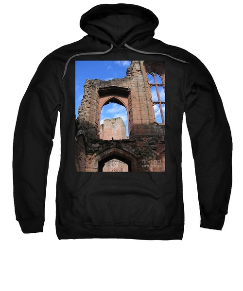 Sweatshirt featuring the photograph Inside Leicester's Building by Denise Railey