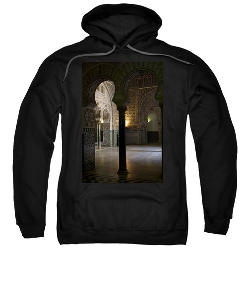 Inside The Alcazar Of Seville Sweatshirt