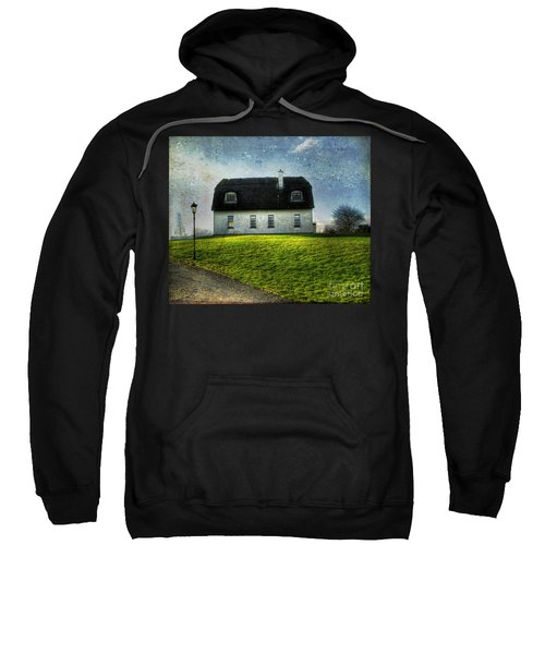 Irish Thatched Roofed Home Sweatshirt