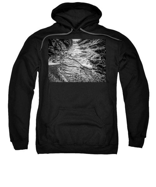It's A Rush Browns Beach  Sweatshirt
