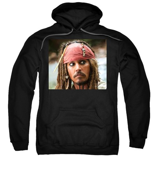 Jack Sparrow Sweatshirt by Paul Tagliamonte
