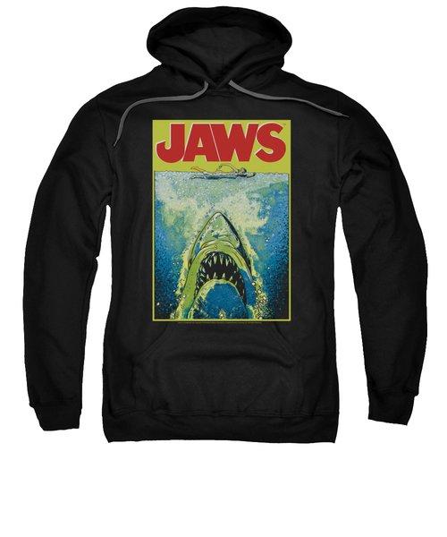 Jaws - Bright Jaws Sweatshirt by Brand A