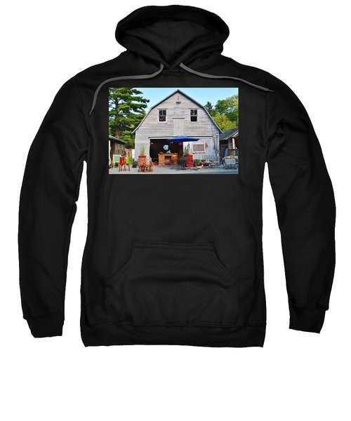 The Old Barn At Jaynes Reliable Antiques And Vintage Sweatshirt