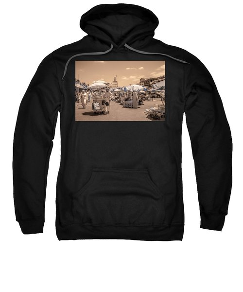 Jemaa El Fna Market In Marrakech Sweatshirt