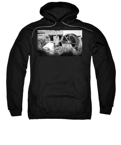 Jenney Mill In Black And White Sweatshirt