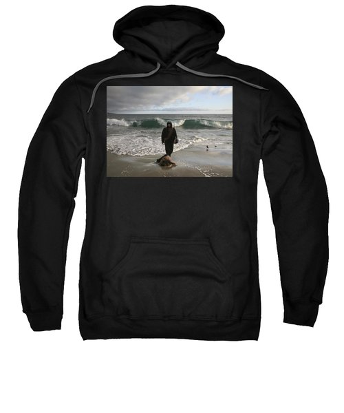 Jesus Christ- I Love You So Much Don't Cry I'm Here Sweatshirt