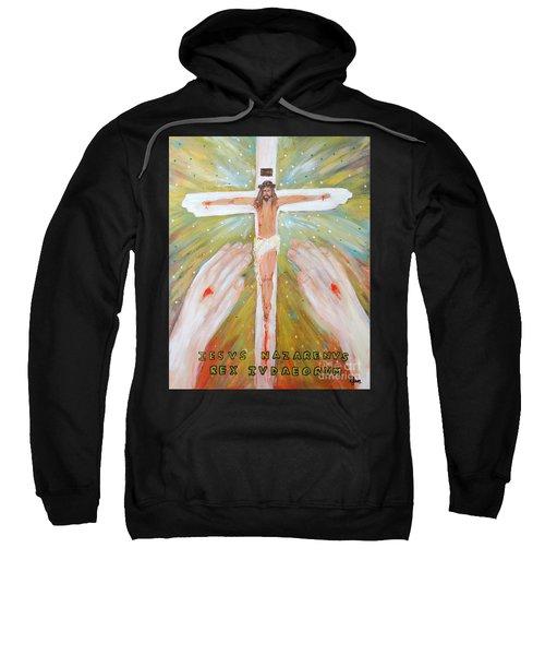 Jesus - King Of The Jews Sweatshirt